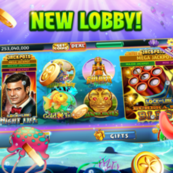 Gold Fish Casino Slots Games iphone image 3