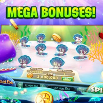 Gold Fish Casino Slots Games iphone image 4