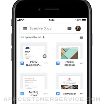 Google Docs: Sync, Edit, Share iphone image 3