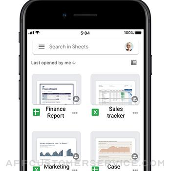 Google Sheets iphone image 4