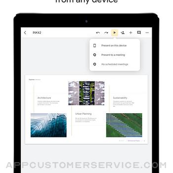 Google Slides ipad image 1