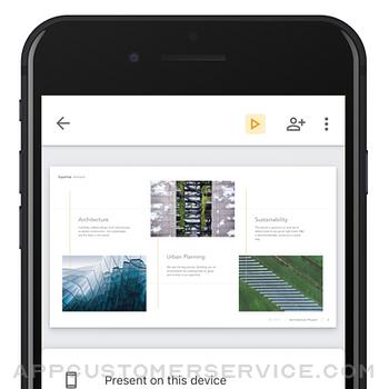 Google Slides iphone image 1