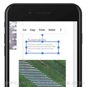 Google Slides iphone image 4