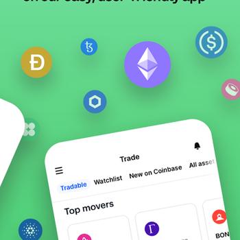 Coinbase – Buy & sell Bitcoin iphone image 2