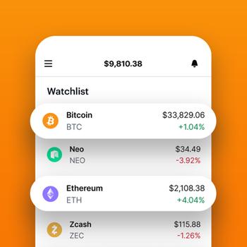 Coinbase – Buy & sell Bitcoin iphone image 4