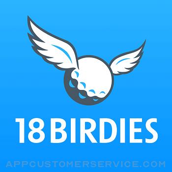 Golf GPS 18Birdies Scorecard Customer Service