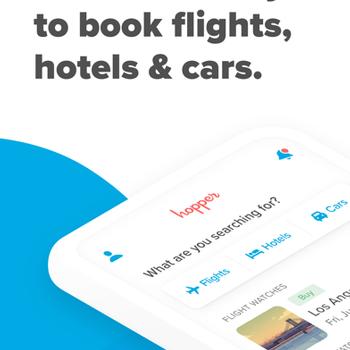 Hopper - Flight & Hotel Deals iphone image 1