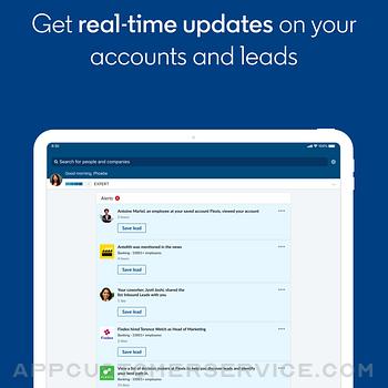 LinkedIn Sales Navigator ipad image 1