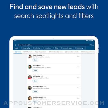 LinkedIn Sales Navigator ipad image 2