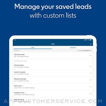 LinkedIn Sales Navigator ipad image 3