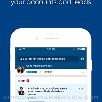 LinkedIn Sales Navigator iphone image 1
