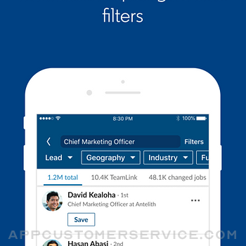 LinkedIn Sales Navigator iphone image 2
