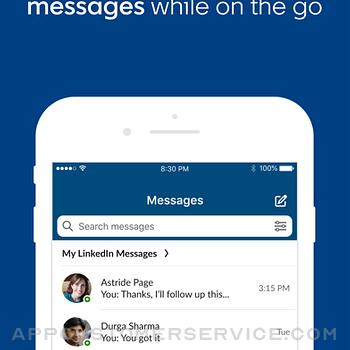LinkedIn Sales Navigator iphone image 4