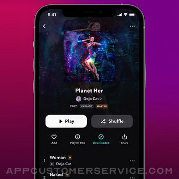TIDAL Music iphone image 3