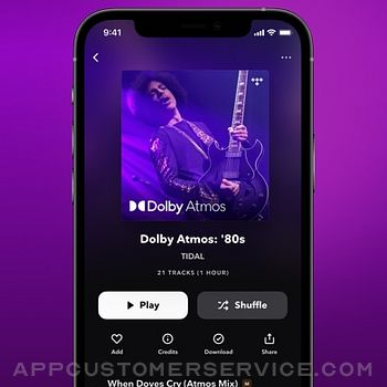 TIDAL Music iphone image 4