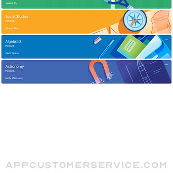 Google Classroom ipad image 1