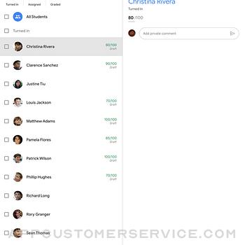 Google Classroom ipad image 3
