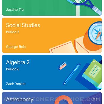 Google Classroom iphone image 1