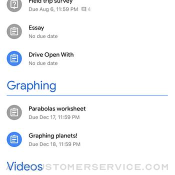 Google Classroom iphone image 2