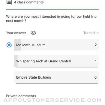 Google Classroom iphone image 3