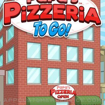 Papa's Pizzeria To Go! iphone image 1