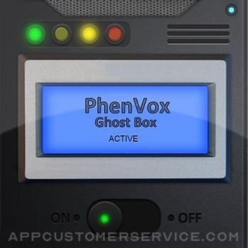 PhenVox Ghost Box Customer Service