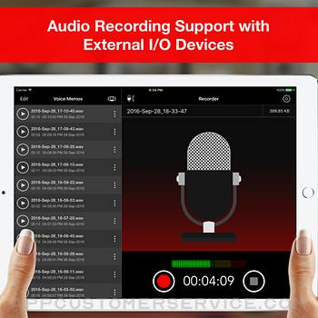 Voice Recorder - Audio Record ipad image 1