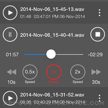 Voice Recorder - Audio Record iphone image 2