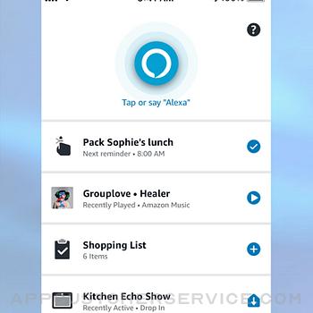 Amazon Alexa iphone image 1