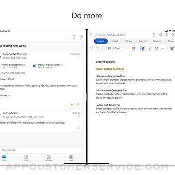 Microsoft Outlook ipad image 3