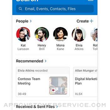 Microsoft Outlook iphone image 3