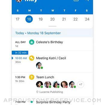 Microsoft Outlook iphone image 4