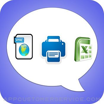 Export Messages - Save Print Backup Recover Text SMS iMessages Customer Service