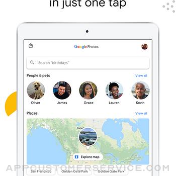 Google Photos ipad image 2