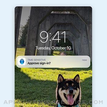 Microsoft Authenticator iphone image 2