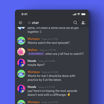 Discord - Talk, Chat & Hangout iphone image 1