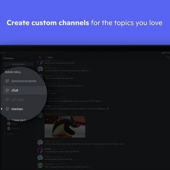 Discord - Talk, Chat, Hang Out ipad image 3
