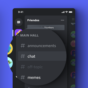 Discord - Talk, Chat, Hang Out iphone image 3