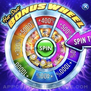 Hot Shot Casino Slots Games iphone image 4