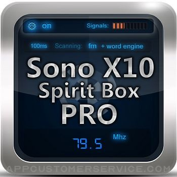 Sono X10 Spirit Box PRO Customer Service